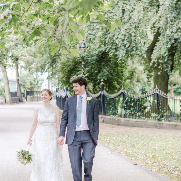 Fiona and Jake's Summer Wedding, Leicester