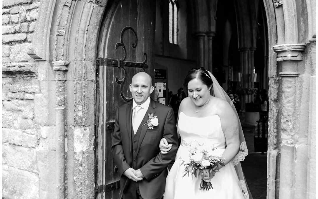 Pete and Anna's Dorchester Abbey Wedding