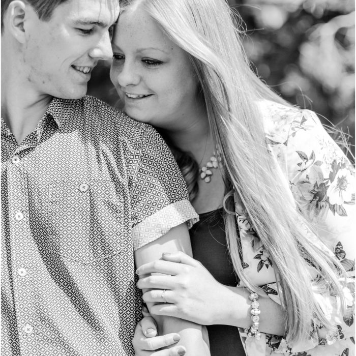 Lauren and Scott's Engagement Shoot - Eynsham Hall