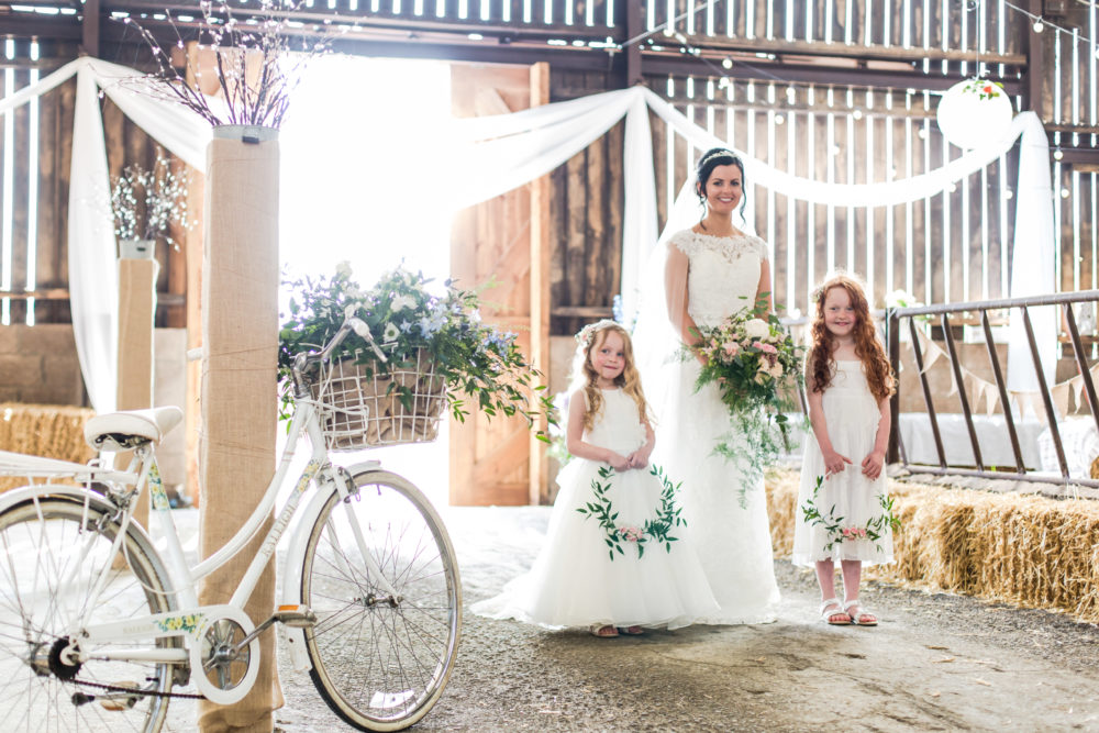 Styled Photo Shoot at the Cowshed, Barn on the Bay Wedding Venue