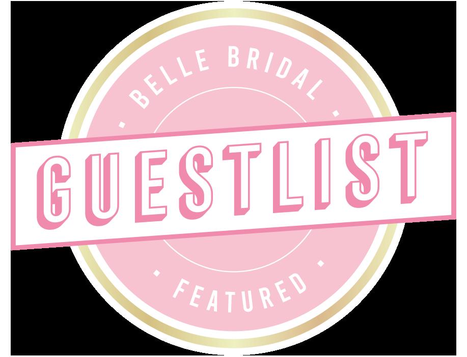 Belle Bridal Guest List Logo